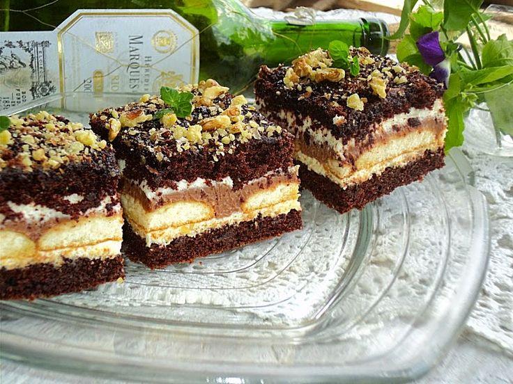 kuchniamojekrolestwo: Ciasto czekoladowe z alkoholem a' la kukułka