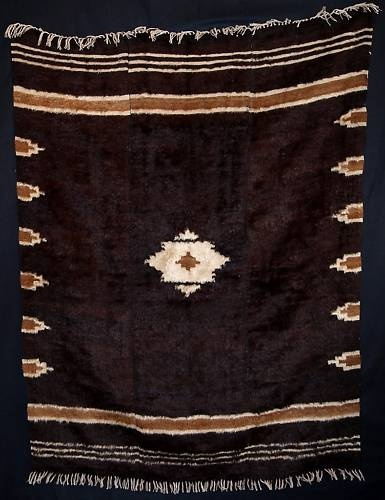 Antique Turkish Siirt Angora Mohair Blanket Circ 1920 | eBay