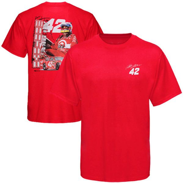 Chase Authentics Juan Pablo Montoya Drive T-Shirt - Red - $7.99