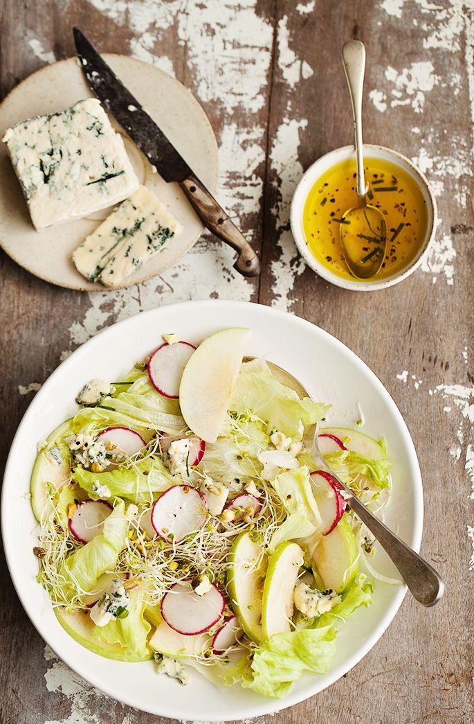 Fresh green apple salad | la casa sin tiempo