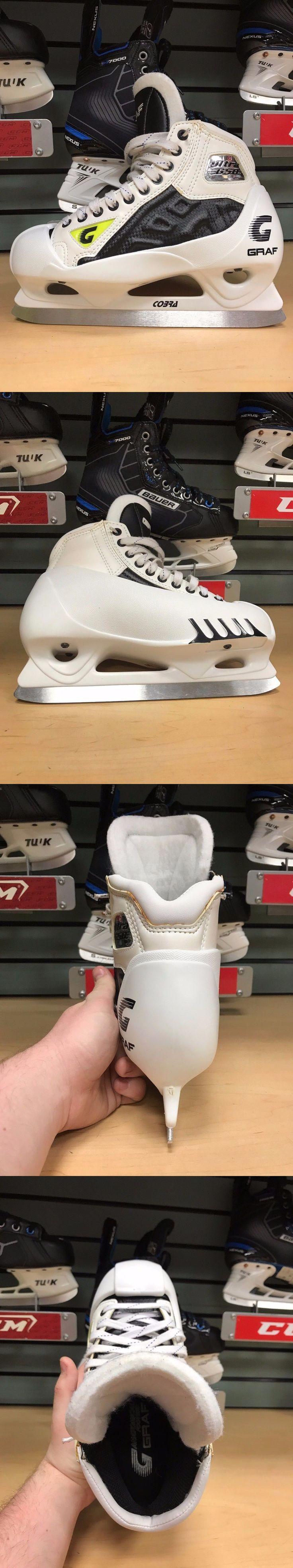 Ice Hockey-Adult 20858: Graf G50 Ix Goalie Skates Sz Sr 8.5D -> BUY IT NOW ONLY: $155 on eBay!
