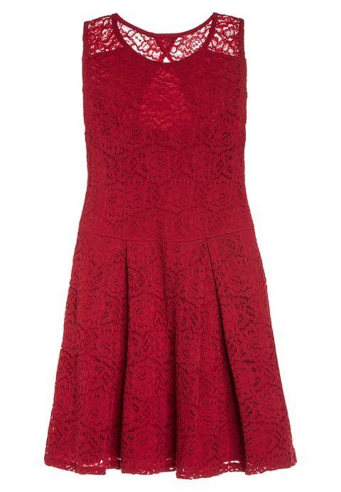 Köp Abercrombie & Fitch BARE SKATERS - Cocktailklänning - red för 499,00 kr (2017-12-12) fraktfritt på Zalando.se