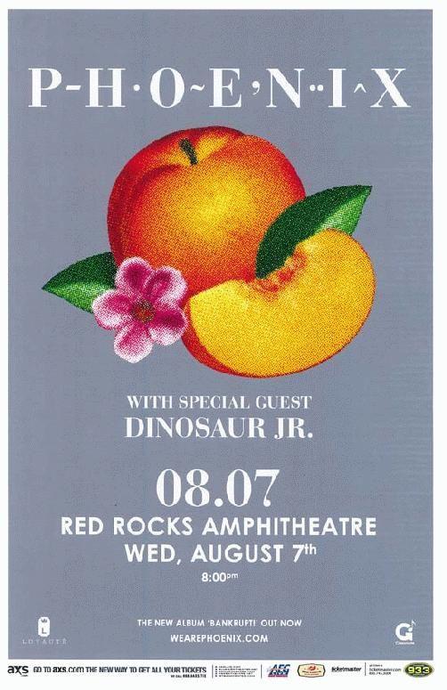 phoenix music gig posters | ... Music Posters - Memorabilia, Concert Poster, Silkscreen, Poster Art