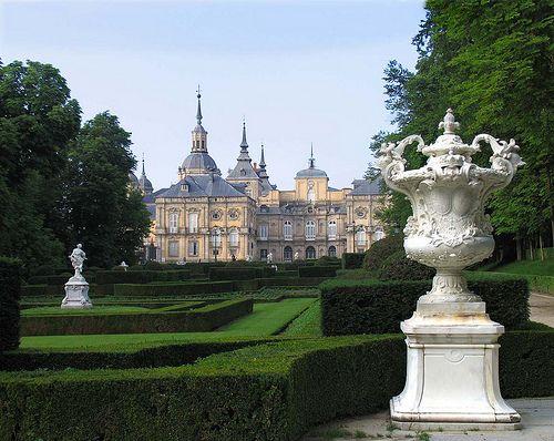 La Granja de San Ildefonso, Spain (by xeniussonar)...near Segovia is one of the three main royal residences.