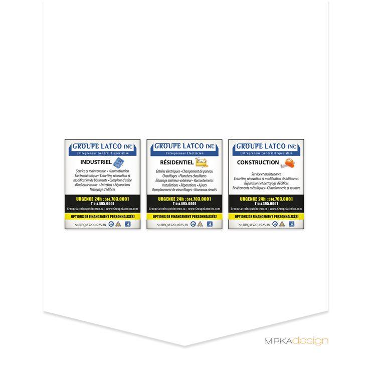 Publicités pour Groupe Latco Inc.