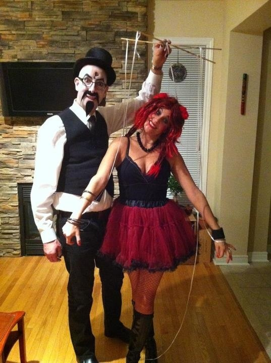 Puppet master and puppet costume!