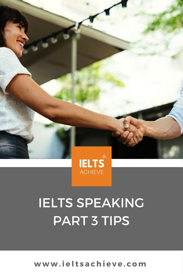 Read how the IELTS Speaking Test Part 3 doesn't have to be hard. Read our top tips on how to be successful and get the band score you want!