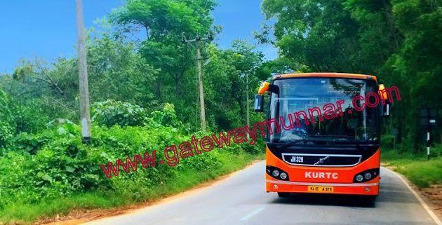 Kochi To Munnar Low Floor Ac Volvo Bus By Kusrtc Ksrtc Aruna Yadav Munnar Bus Travel Bus