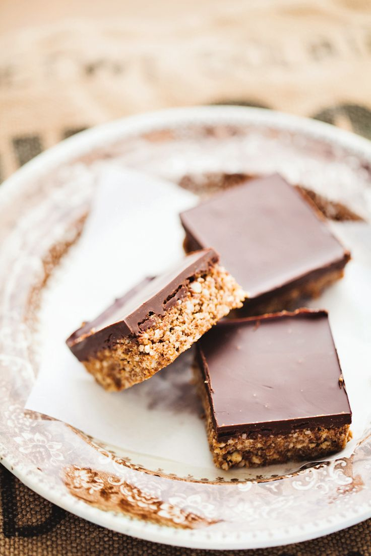 Paleo Almond Chocolate Bars