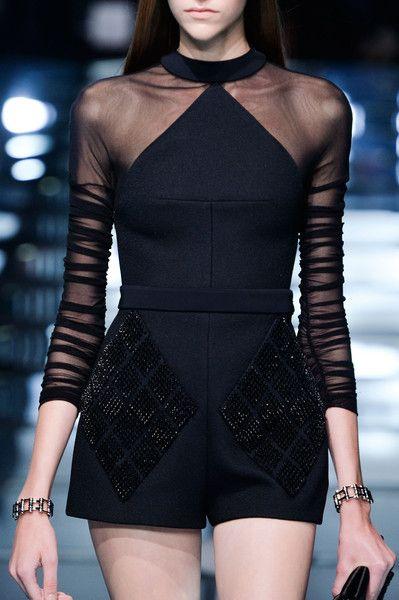 Balenciaga Primavera Paris 2015 (Detalhes)