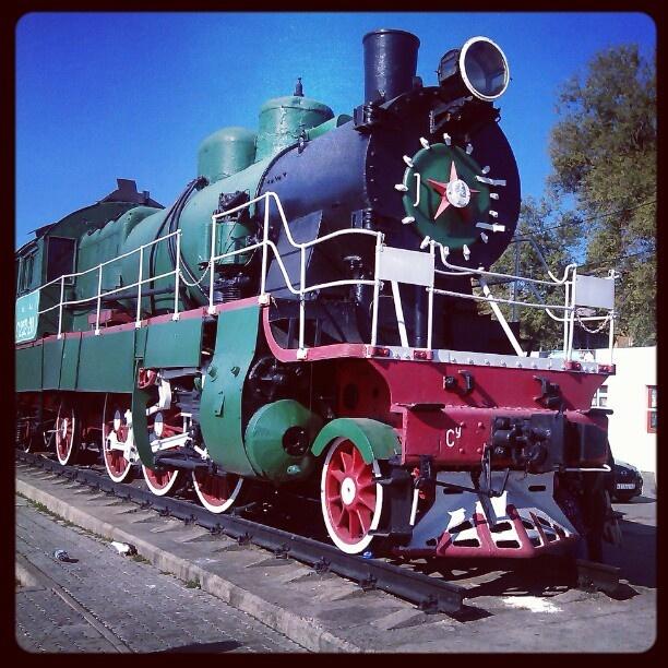 Люблю старые поезда - @avangardos- #webstagram