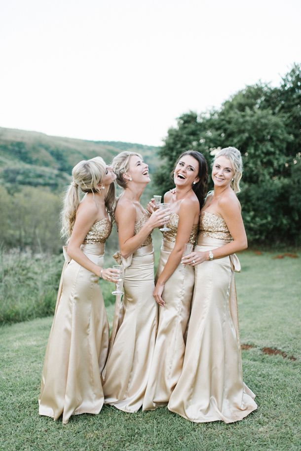 Glam Gold Mountain Wedding by Louise Vorster | SouthBound Bride