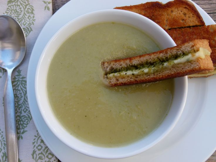 broccoli stalk soup recipe