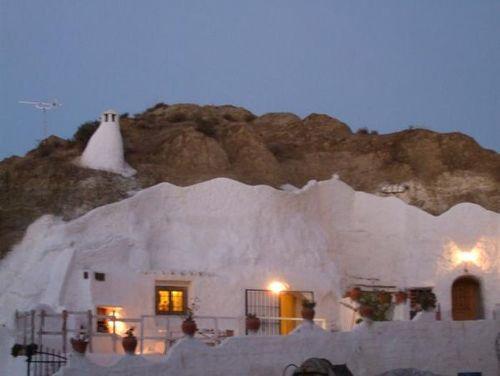 Guadix, Granada, casa cueva.España. Spain