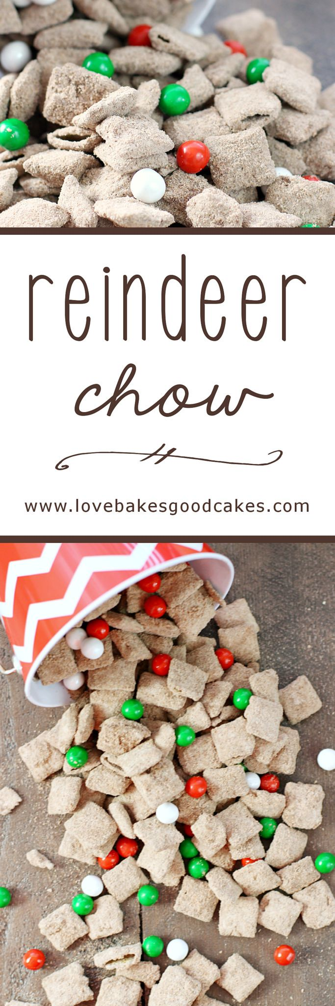 how to make reindeer chow