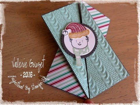 Carte double pliage - Stampin'UP! - YouTube                                                                                                                                                                                 Plus
