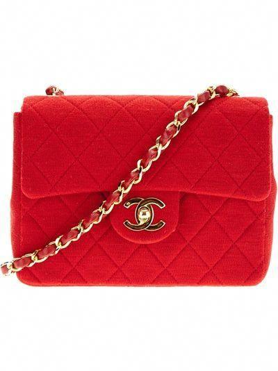 1f807f4d935e Chanel Vintage Quilted Shoulder Bag - Rewind Vintage Affairs - Farfetch.com  #Chanelhandbags