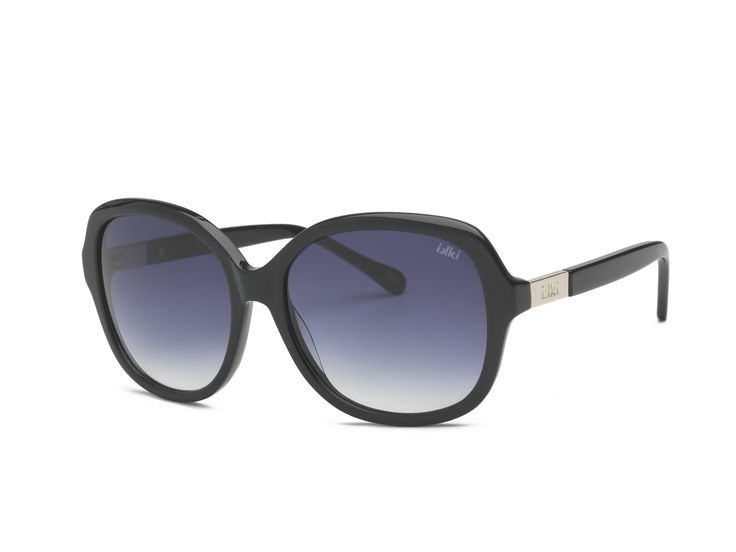 Sunglasses ikki Fashion, black, silver, zonnebril ikki style