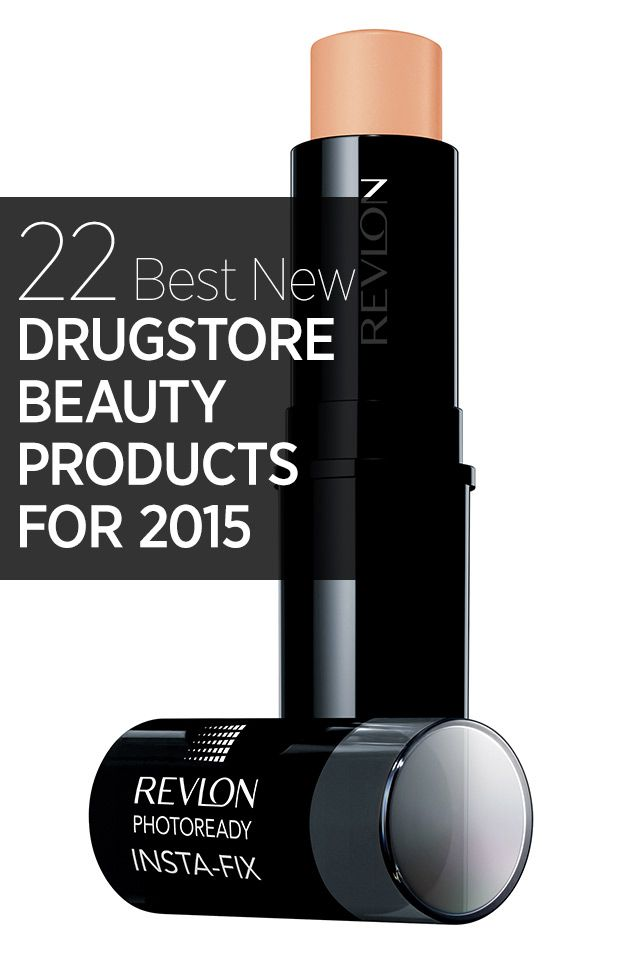 From concealers to lipsticks and acne products, the best new beauty buys from drugstores this year: