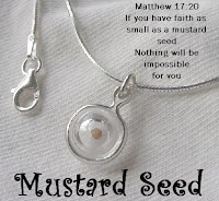 I have a mustard seed and I'm not afraid to use it.