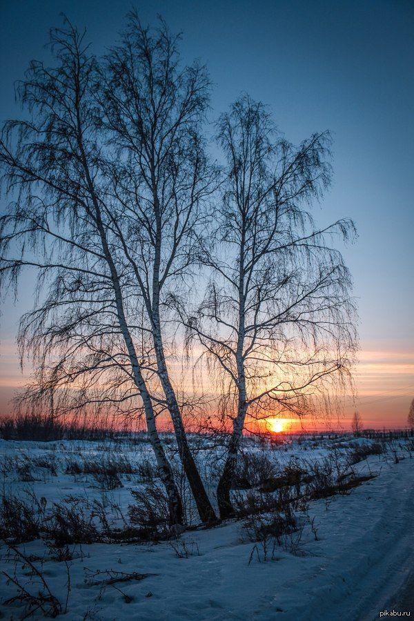 Немного челябинского заката на ночь  закат, челябинск, Фото, красота, Природа