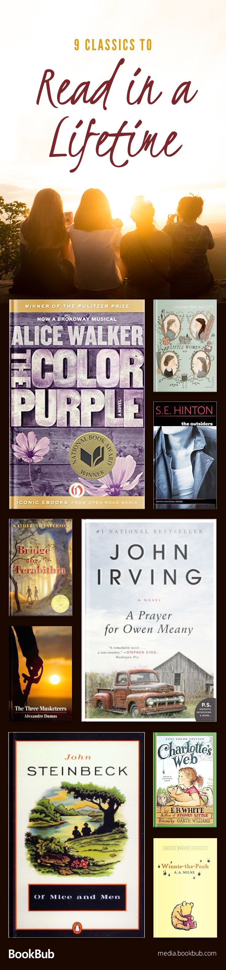 Check out this list of classic books to read in your lifetime, including some of the best timeless literature. If you're looking for reading challenge ideas, this is a great book list for you!