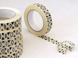 Lovely patterned paper tape in black and white. New at Babongo.: Decorative Paper, Paper Maskingtape, Bastisrike Etsy Com, Washi Tape, Diy, Paper Tape, Masking Tape