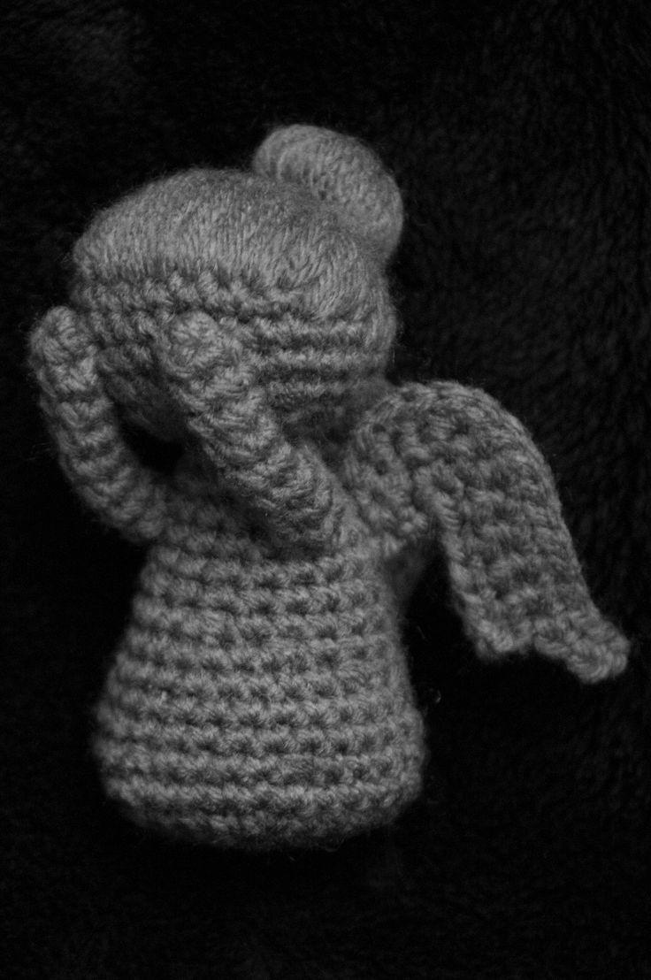 Amigurumi Weeping Angel Pattern : Weeping Angel Amigurumi Crochet Pattern Christmas ...