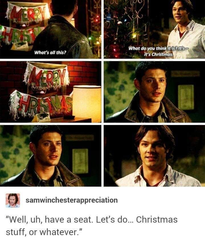 Supernatural Christmas Episodes.Pin By Ilostmyshoeakf On Supernatural Supernatural