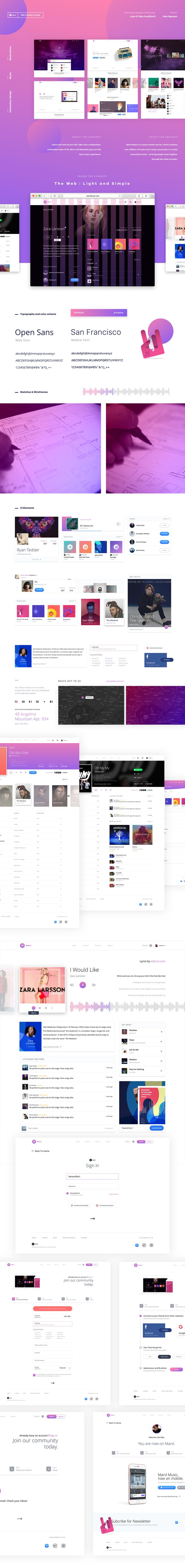 Marvl Music : Experience on Behance