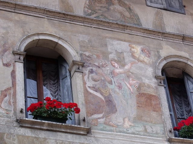 Mural in Feltre, Italy