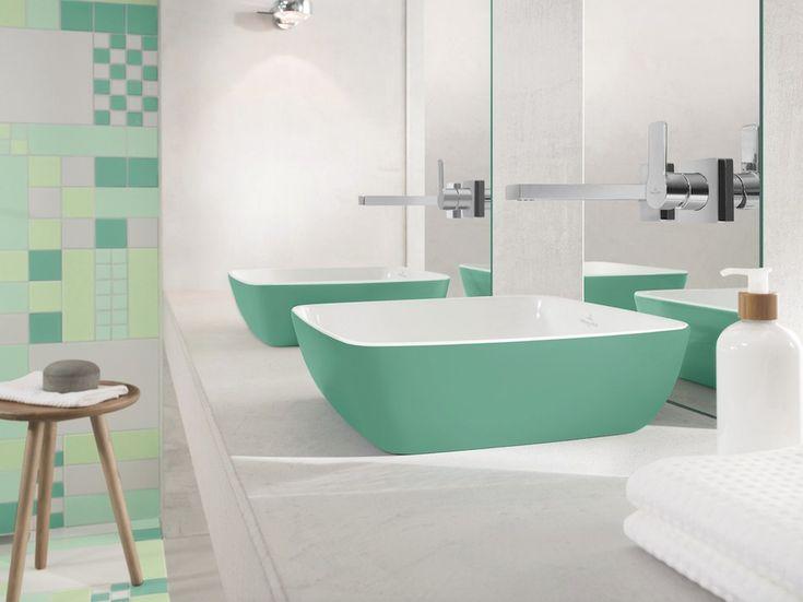 Artis Color Villeroy&Boch lavabo vert