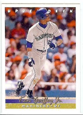 1993 Upper Deck Baseball Card #355 Ken Griffey Jr. Seattle Mariners