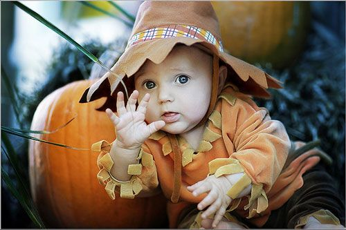 This is Baby John's first halloween costume.