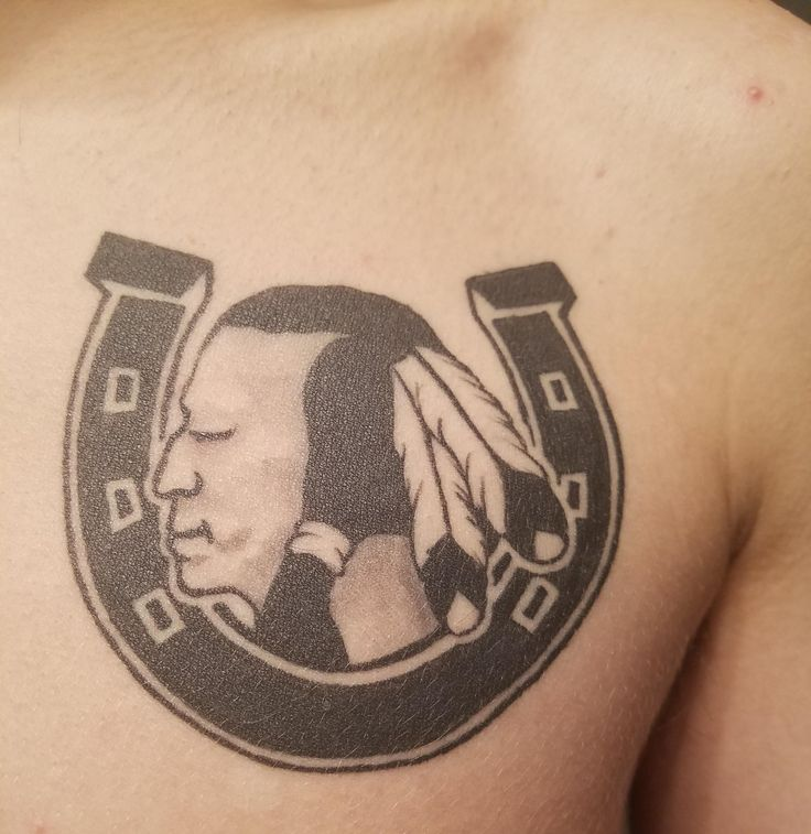 [First Tattoo] Camp Horseshoe by Herbie at M&M Tattoo in Downingtown PA