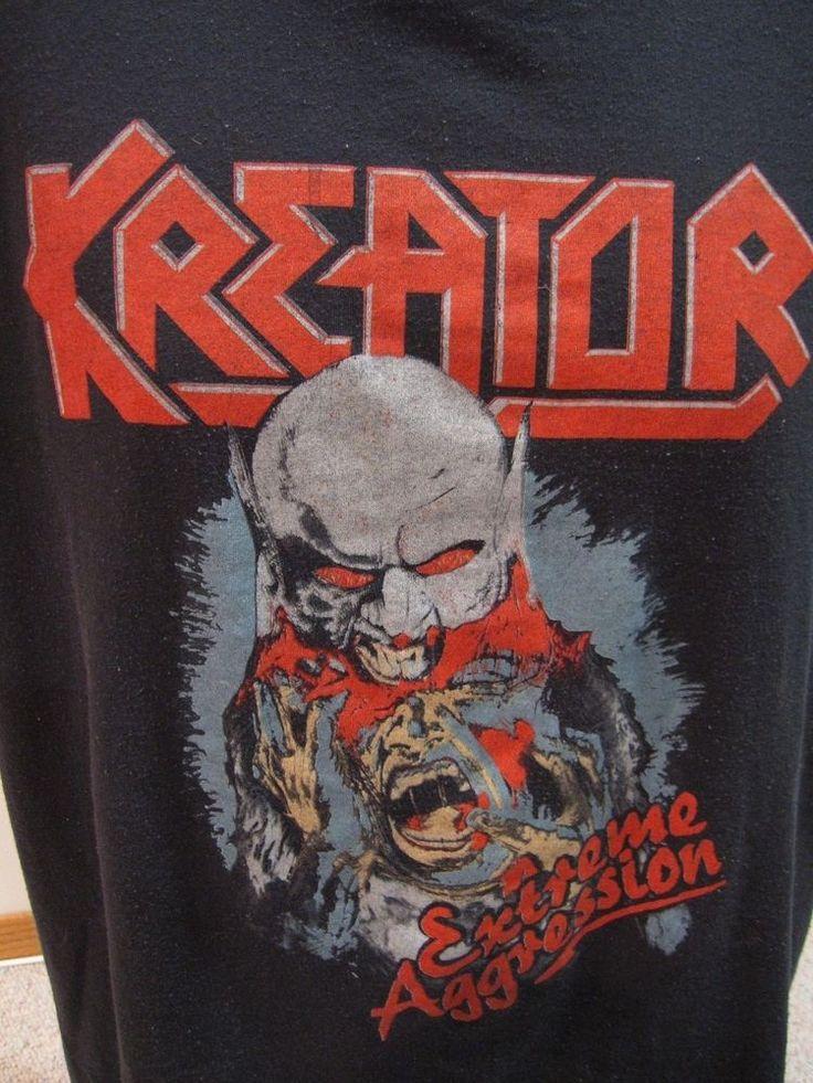 Kreator Rock Metal Thrash Tour Concert Promo NEW CONDITION T SHIRT NOT VINTAGE