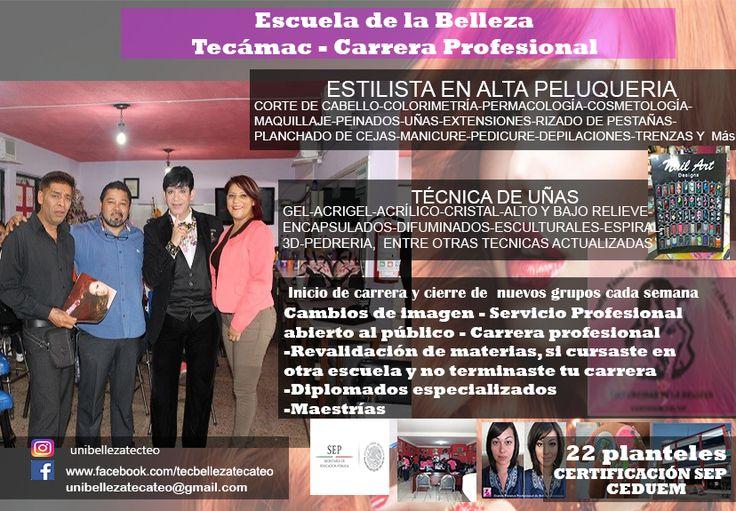 tecnico profesional  de belleza Tecámac y Teotihuacán 5