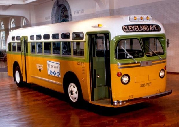 Rosa Parks Bus - Civil rights landmarks - Pictures - CBS News
