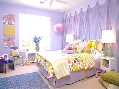 Dance Themed Bedrooms on Teenage Girl Bedroom Designs, I may do the fabric wall for Taylor's room...only it'll be zebra print.