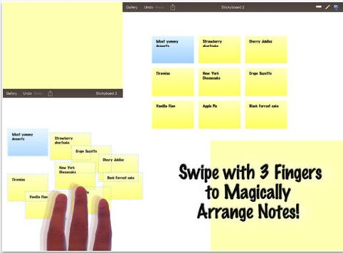 Stickyboard 2- An Excellent Whiteboard and Sticky Notes App for Teachers ~ Educational Technology and Mobile Learning
