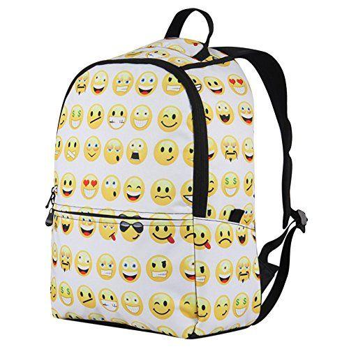 Nuova offerta in #bagaglio : Veevan Zaini da Scuola con Emoji per Bambini a soli 23.99 EUR. Affrettati! hai tempo solo fino a 2016-09-10 17:20:00