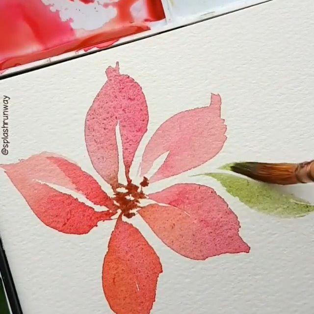 Artist Splashrunway Valid Tag Watercolor Guide Illustration