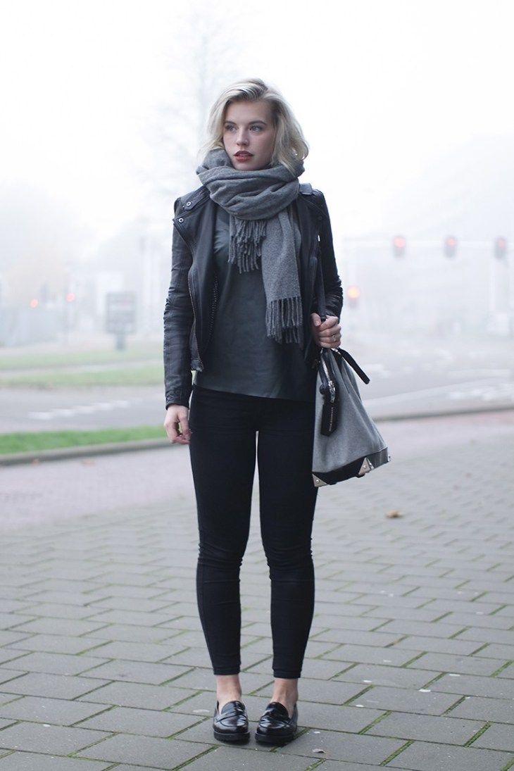 18 Möglichkeiten, schwarze Müßiggänger zu tragen  #igganger #moglichkeiten #...