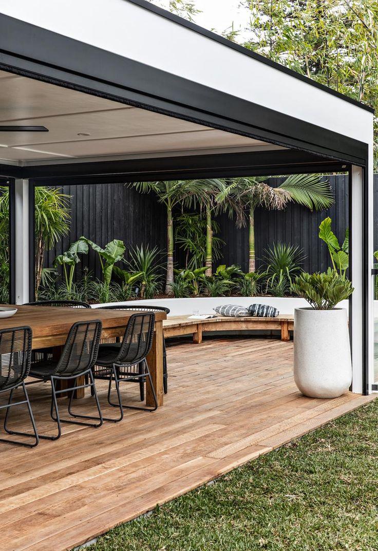 Outdoor Areas, Outdoor Rooms, Outdoor Decor, Backyard Patio, Backyard Landscaping, Backyard Ideas, Shed Patio Ideas, House And Home Magazine, Patio Design