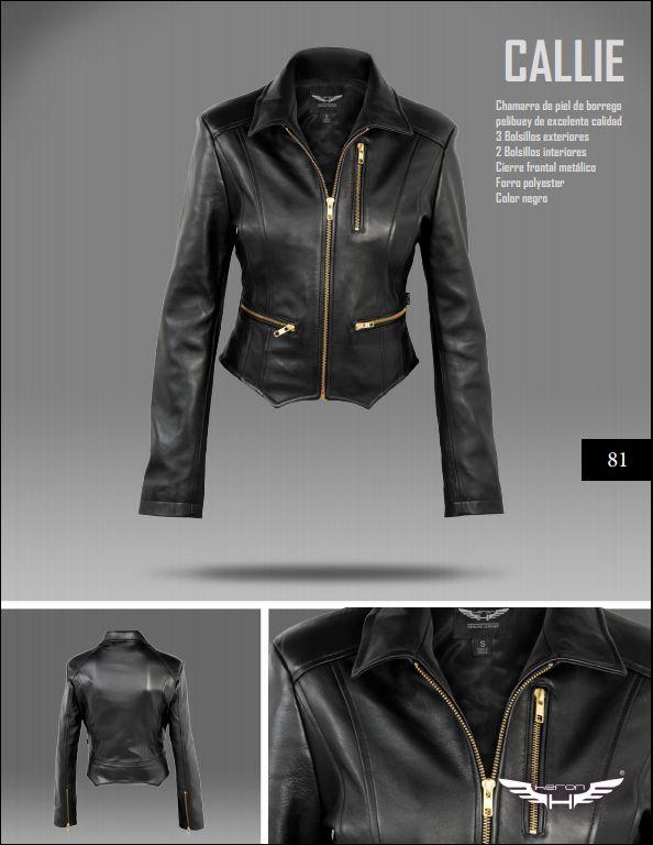 #Chaqueta modelo Callie negra. #moda