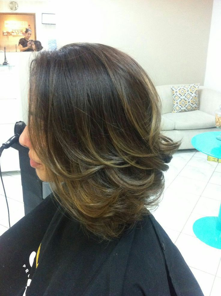 Midi bob + ombre hair 😍