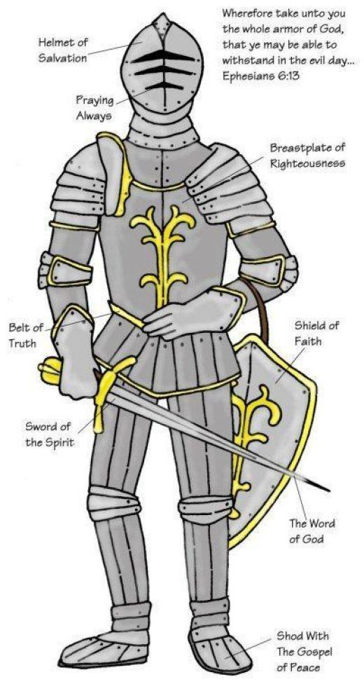 165 best church - armor of God images on Pinterest