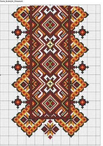 Gallery.ru / Фото #34 - схемы для вышиванок - zhivushaya