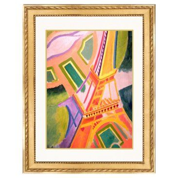 Check out this item at One Kings Lane! R. Delaunay, Eiffel Tower II, 1924