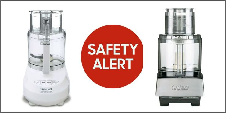 Cuisinart Recalls - Food Processor Recall 2016